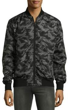 Sovereign Code Camouflage Bomber Jacket