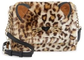 Kate Spade Run Wild Faux Fur Shoulder Bag/muff - Brown - BROWN - STYLE