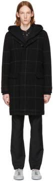 Stephan Schneider Black Check Chrono Coat