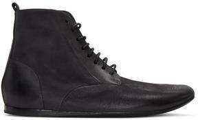 Marsèll Black Strappiatam Boots