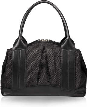 Joanna Maxham Cast Away II Black Intreccio Medium Satchel