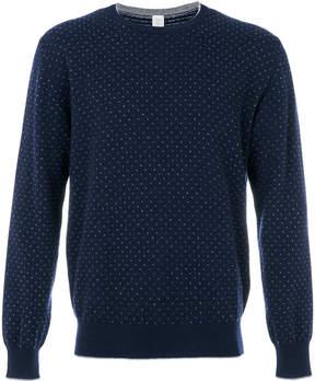 Eleventy dots pattern sweatshirt