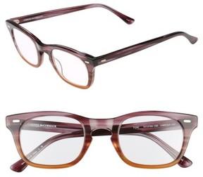 Corinne McCormack Women's 'Toni' 48Mm Reading Glasses - Purple/ Brown