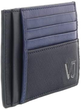 Versace EE3YQBPA4 E240 Electric Blue Compact Wallet