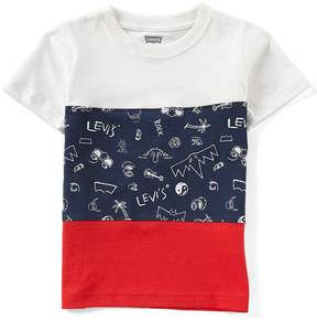 Levi's Little Boys 2T-7 Short-Sleeve Color Block Tee