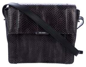Jason Wu Snakeskin Flap Crossbody Bag