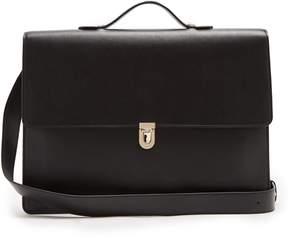 Paul Smith Concertina leather briefcase