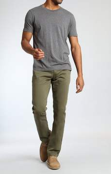 Mavi Jeans Edward Chino In Olive Twill