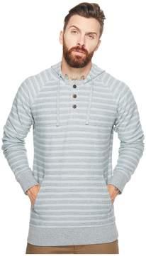 VISSLA Brooks French Terry Pullover Henley Fleece Men's Clothing