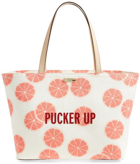 Kate Spade Pucker Up Francis Canvas Tote - MULTI - STYLE