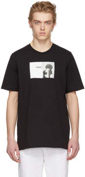 Oamc Black Angela Davis T-Shirt