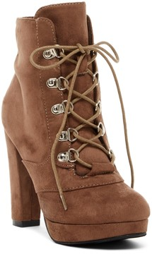 Catherine Malandrino Plepet Lace-Up Bootie