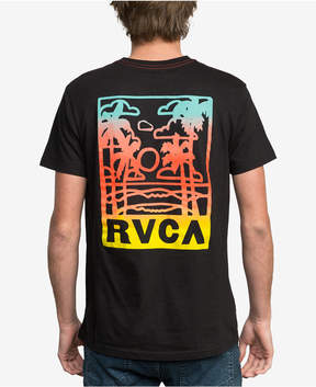 RVCA Men's Couple Fun Ones Logo-Print T-Shirt