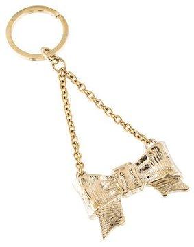 RED Valentino Metallic Bow Keychain w/ Tags