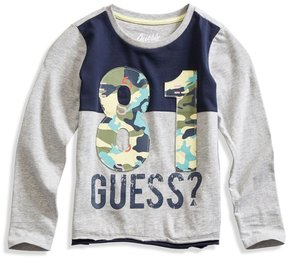 GUESS Color-Blocked Logo Tee (2-6x)