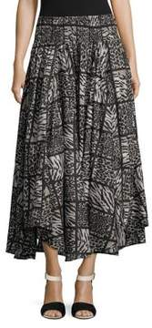 Context Animal Print Skirt
