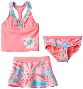 ZeroXposur Girls 4-6x Fantasia Tankini Swimsuit Set