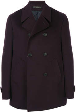 Corneliani double-breasted short coat
