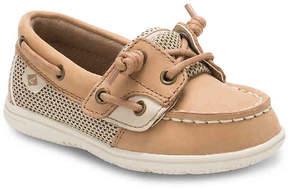 Sperry Girls Shoresider Jr Toddler Boat Shoe