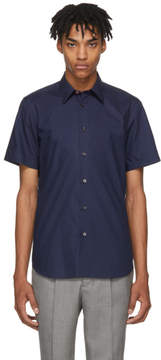 Paul Smith Navy Short Sleeve Tailored Shirt