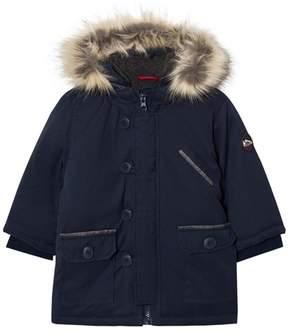 Absorba Navy Padded Hooded Coat