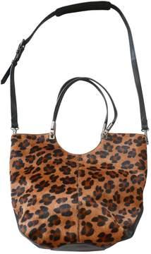 Elizabeth and James Pony-style calfskin shoulder bag