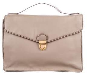 Marc by Marc Jacobs Leather Push-Lock Satchel