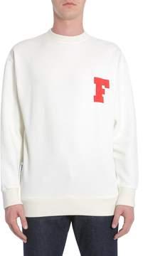 Kitsune Sweatshirt With f Patch