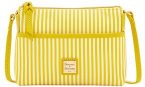 Dooney & Bourke DB Stripe Ginger Crossbody Shoulder Bag - SUNFLOWER - STYLE