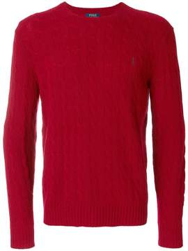 Polo Ralph Lauren classic cable knit jumper