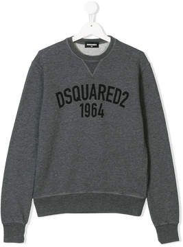 DSQUARED2 Teen logo print sweatshirt