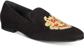 Roberto Cavalli Men's Embroidered Crest Loafers Men's Shoes