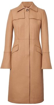 Banana Republic Italian Melton Wool-Blend Long Trench Coat