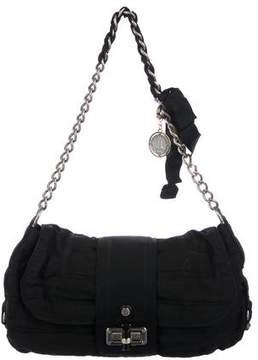 Lanvin Pleated Woven Shoulder Bag