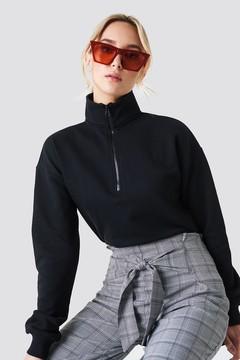 NA-KD Na Kd Zipper Sweatshirt