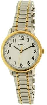 Timex Women's Easy Reader TW2P78700 Multi Stainless-Steel Plated Japanese Quartz Fashion Watch