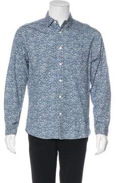 Alex Mill Floral Print Chambray Shirt w/ Tags