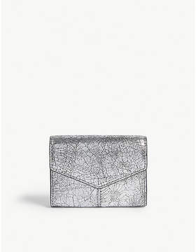 Sandro Metallic leather purse