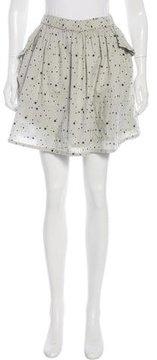 Chinti and Parker Star Print Mini Skirt w/ Tags