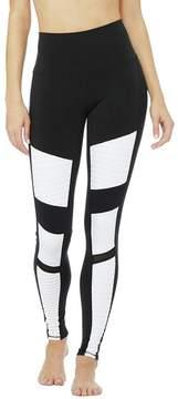 Alo Yoga High-Waist Colorblock Moto Legging - Women's