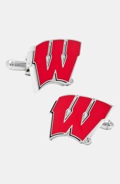 Cufflinks Inc. Men's Cufflinks, Inc. 'University Of Wisconsin Badgers' Cuff Links