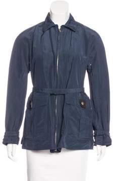 Loro Piana Collared Zip-Up Jacket