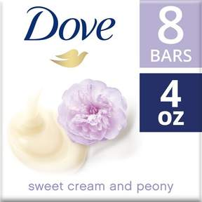 Dove Purely Pampering Sweet Cream and Peony Beauty Bar 4 oz - 8 Bar