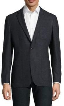 Michael Kors Two-Buttoned Wool Blazer