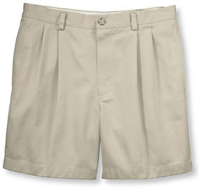 L.L. Bean Wrinkle-Free Double L Chino Shorts, Classic Fit Pleated 6 Inseam