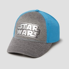 Star Wars Boys' Baseball Hat - Gray/Blue One Size
