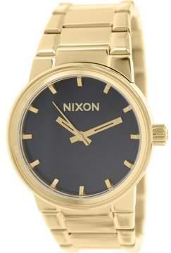 Nixon Men's Cannon A160510 Gold Stainless-Steel Quartz Fashion Watch