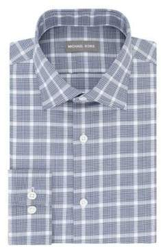 MICHAEL Michael Kors Herringbone Plaid Dress Shirt
