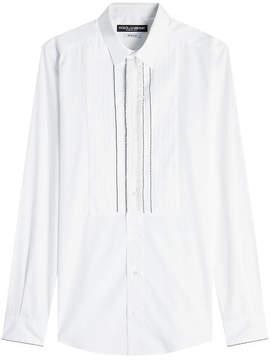 Dolce & Gabbana Cotton Bib Shirt