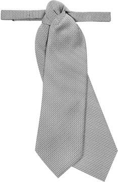 Forzieri Silver Double Tail Plastron
